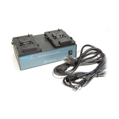 Picture of V-mount dual battery charger